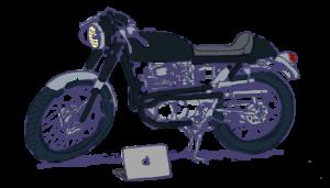 バイクに跨りスロットルを回す。何かが起きる、予感がする。